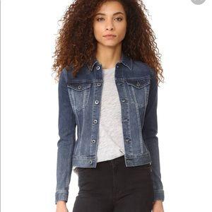 Ag denim jacket XS